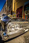 Cool car in the side street of Newtown, NSW, Australia