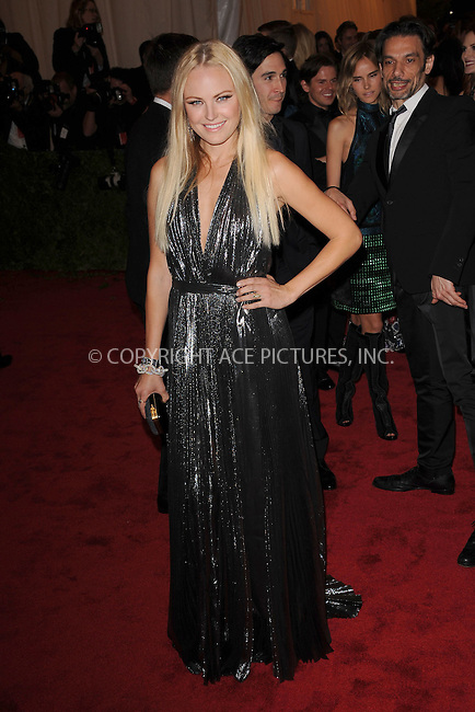 "WWW.ACEPIXS.COM . . . . . .May 7, 2012...New York City... Malin Akerman attending the ""Schiaparelli and Prada: Impossible Conversations"" Costume Institute Gala at The Metropolitan Museum of Art in New York City on May 7, 2012  in New York City ....Please byline: KRISTIN CALLAHAN - ACEPIXS.COM.. . . . . . ..Ace Pictures, Inc: ..tel: (212) 243 8787 or (646) 769 0430..e-mail: info@acepixs.com..web: http://www.acepixs.com ."