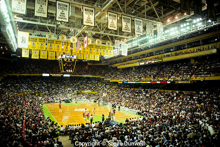 Boston Garden, Celtics, Larry Bird