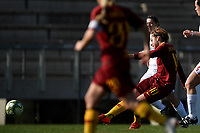 Vanessa Bernauer of AS Roma scores the second goal for her side during the Women Italy cup round of 8 second leg match between AS Roma and Roma Calcio Femminile at stadio delle tre fontane, Roma, February 20, 2019 <br /> Foto Andrea Staccioli / Insidefoto