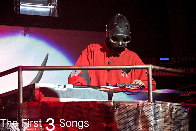 Slipknot performs at the 2012 Rockstar Energy Drink Mayhem Festival at Blossom Music Center in Cleveland, Ohio.