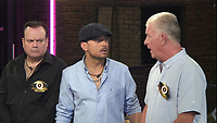 Celebrity Big Brother 2017<br /> Shaun Williamson, Paul Danan and Derek Acorah.<br /> *Editorial Use Only*<br /> CAP/KFS<br /> Image supplied by Capital Pictures