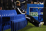 All Black Jerry Collins relaxes before the first international rugby test at Eden Park, Auckland, New Zealand, Saturday, June 02, 2007. The All Blacks beat France 42-11.