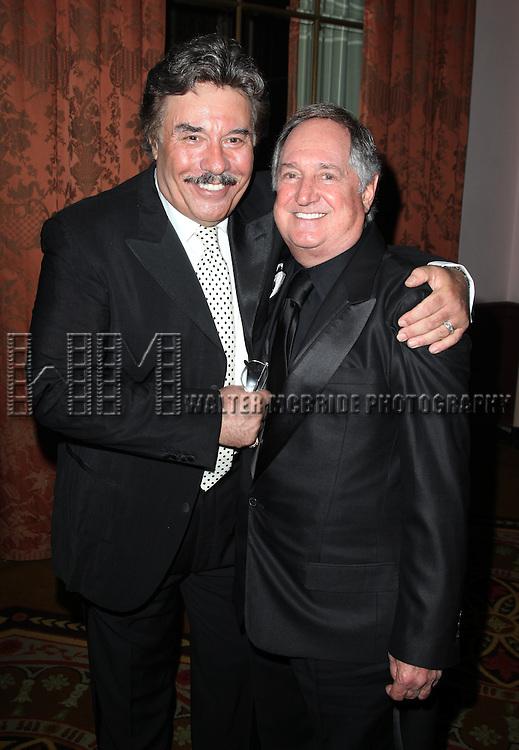 Tony Orlando & Neil Sedaka.attending the 2011 Friars Foundation Applause Award Gala in New York City.
