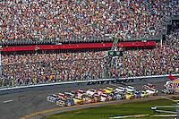 Green Flag, Daytona 500, NASCAR Sprint Cup Series, Daytona International Speedway, Daytona Beach, FL