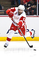 03/02/11 Anaheim, CA: Detroit Red Wings center Pavel Datsyuk #13 during an NHL game between the Detroit Red Wings and the Anaheim Ducks at the Honda Center. The Ducks defeated the Red Wings 2-1 in OT.