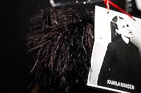 SAO PAULO, SP, 22 DE MARCO 2013 - SPFW R.ROSNER - Roupas que serão aresentadas no desfile da grife R.Rosner no último dia do São Paulo Fashion Week primavera-verão na Bienal do Ibirapuera na região sul da cidade de São Paulo nesta sexta-feira, 22. .FOTO: POLINE LYS - BRAZIL PHOTO PRESS.
