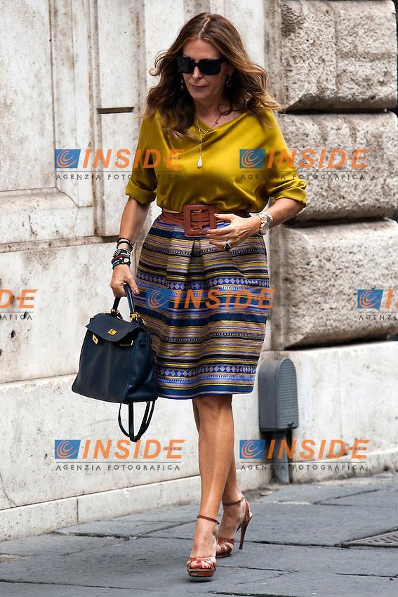 Daniela Santanche'<br /> Roma 02-10-2014 Palazzo Grazioli. Riunione del Comitato di Presidenza di Forza Italia.<br /> Photo Samantha Zucchi Insidefoto