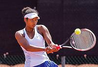 Netherlands, Rotterdam August 05, 2015, Tennis,  National Junior Championships, NJK, TV Victoria, Daevina Achong    <br /> Photo: Tennisimages/Henk Koster