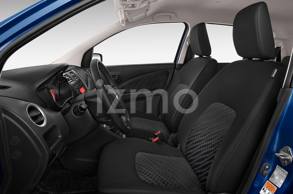 Front seat view of a 2015 Suzuki CELERIO Grand Luxe Xtra 5 Door Hatchback Front Seat car photos