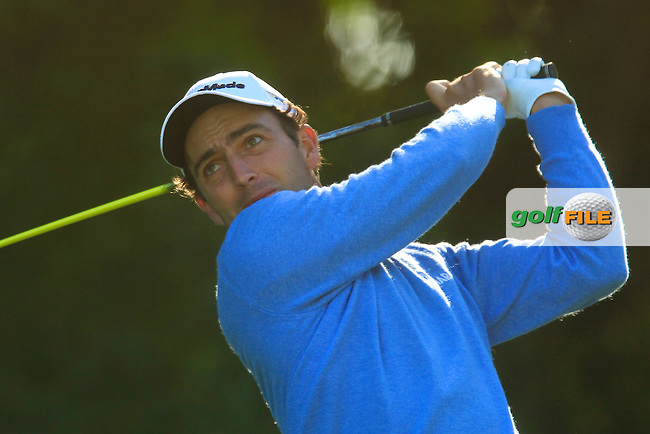 Edoardo Molinari (ITA) in action during the first round of the 40th Trophee Hassan II played at the Golf du Palais Royal d'Agadir, Agadir, Morocco 28 - 31 March 2013. (Picture Credit / Phil Inglis) www.golffile.ie