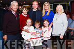 The Launch of the Garry McMahon Singing Weekend was held last Friday night in The Ramble Inn Abbeyfeale. The Singing Weekend which is organised by the West Limerick Singing Club will be held 20th., 21st, 22nd, October.<br /> Members of Garry McMahon&rsquo;s family attending the launch.<br /> Eoin McMahon (Brother), Joan McMahon (Wife), Rossa McMahon (Son),Treasa McAuliffe (Daughter), Mary O&rsquo; Connor (Cousin) and grandchildren Nell &amp; Cathal McMahon &amp; Orlaith McAuliffe.