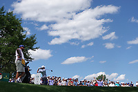 JT Poston (USA) during the third round of the Northern Trust played at Liberty National Golf Club, Jersey City, USA. 10/08/2019<br /> Picture: Golffile | Phil INGLIS<br /> <br /> All photo usage must carry mandatory copyright credit (© Golffile | Phil Inglis)