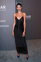 NEW YORK, NY - FEBRUARY 6: Jourdana Phillips arriving at the 21st annual amfAR Gala New York benefit for AIDS research during New York Fashion Week at Cipriani Wall Street in New York City on February 6, 2019. <br /> CAP/MPI99<br /> &copy;MPI99/Capital Pictures
