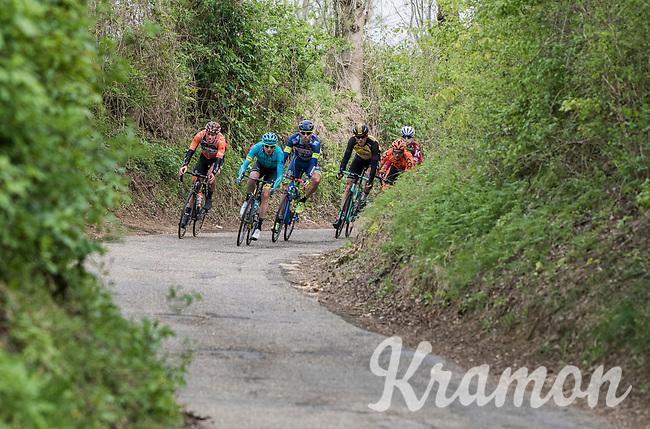 early breakaway group <br /> <br /> 52nd Amstel Gold Race (1.UWT)<br /> 1 Day Race: Maastricht &rsaquo; Berg en Terblijt (264km)