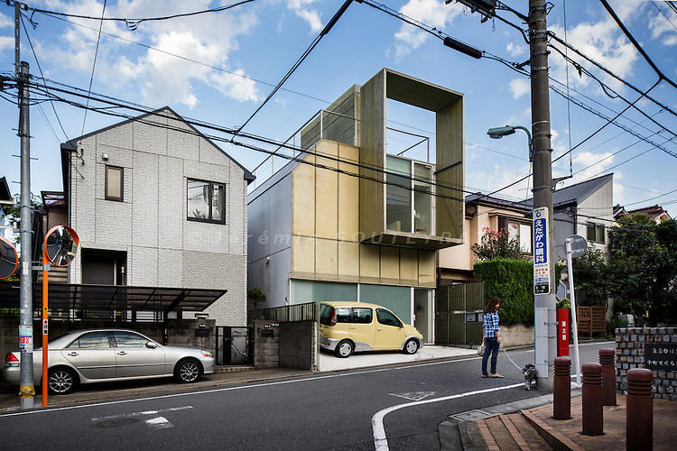 Tokyo, October 4 2012 - Plastic House by Kengo Kuma