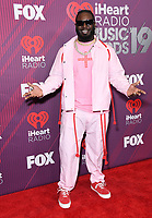 14 March 2019 - Los Angeles, California - T-Pain. 2019 iHeart Radio Music Awards - Press Room held at Microsoft Theater. Photo Credit: Birdie Thompson/AdMedia
