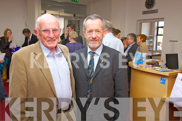 Professor John A.Murphy UCC and Sean Kelly MEP at the O'Connell Summer School at the weekend.