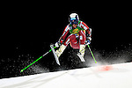 Rasmus Windingstad competes during the FIS Alpine Ski World Cup Men's Parallel Giant Slalom in Alta Badia, on December 21, 2015. Norway's Kjetil Jansrud wins the race, Aksel Lund Svindal second and Sweden's Andre Myrher is third.