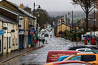 Pictured: The High Street in Rhymney. Thursday 12 December 2019<br /> Re: Realistic looking baby dolls used for therapy at the Oaklands Day Centre in Rhymney near Tredegar south Wales, UK.