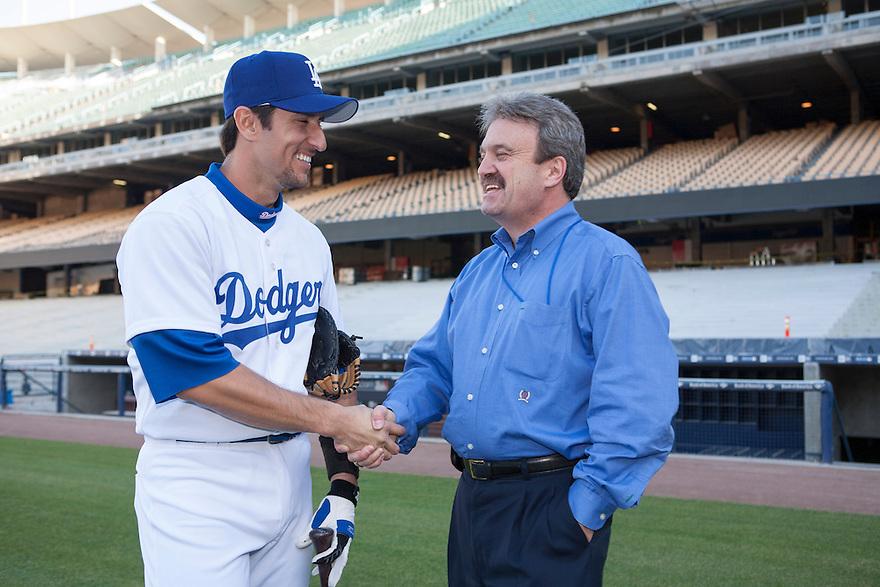 Los Angeles Dodgers Nomar Garciaparra<br /> <br /> &copy;Jon SooHoo/ Los Angeles Dodgers 2006