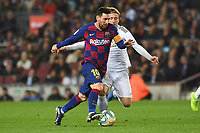Lionel Messi, Luka Modric <br /> <br /> 18/12/2019 <br /> Barcelona - Real Madrid<br /> Calcio La Liga 2019/2020 <br /> Photo Paco Largo Panoramic/insidefoto <br /> ITALY ONLY