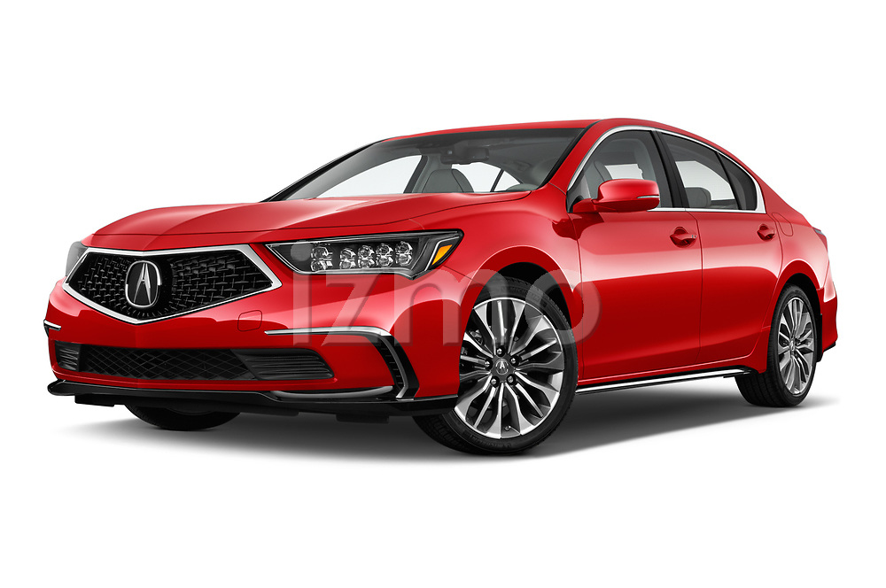 Stock pictures of low aggressive front three quarter view of 2018 Acura RLX - 4 Door Sedan Low Aggressive