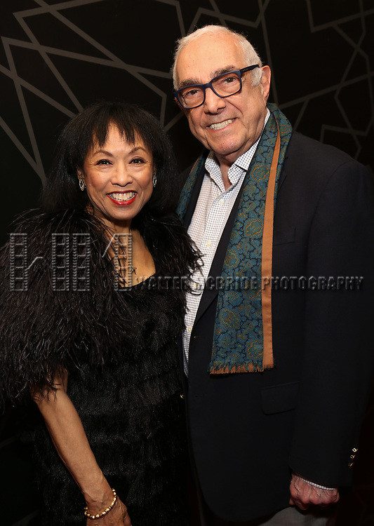 """Baayork Lee and Bob Avian attends the New York City Center Celebrates 75 Years with a Gala Performance of """"A Chorus Line"""" at the City Center on November 14, 2018 in New York City."""