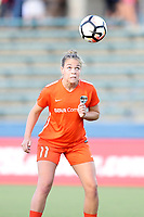 Cary, North Carolina  - Saturday September 09, 2017: Meghan Cox prior to a regular season National Women's Soccer League (NWSL) match between the North Carolina Courage and the Houston Dash at Sahlen's Stadium at WakeMed Soccer Park. The Courage won the game 1-0.