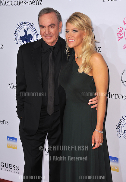 Neil Diamond & wife at the 26th Carousel of Hope Gala at the Beverly Hilton Hotel..October 20, 2012  Beverly Hills, CA.Picture: Paul Smith / Featureflash