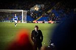 Ipswich Town 1 Leeds United 0, 13/01/2018. Portman Road, Championship. Leeds United manager Thomas Christiansen. Photo by Simon Gill.