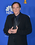 a_Quentin Tarantino 117 poses in the press room with awards at the 77th Annual Golden Globe Awards at The Beverly Hilton Hotel on January 05, 2020 in Beverly Hills, California.