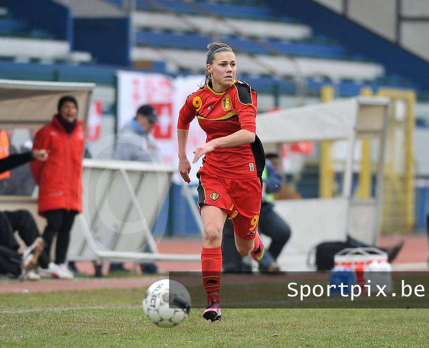 Belgium U19 - Switzerland U19 : Jassina Blom .foto DAVID CATRY / Nikonpro.be