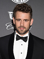 SANTA MONICA, CA - JANUARY 06: Actor Nick Viall  arrives at the The Art Of Elysium's 11th Annual Celebration - Heaven at Barker Hangar on January 6, 2018 in Santa Monica, California.<br /> CAP/ROT/TM<br /> &copy;TM/ROT/Capital Pictures