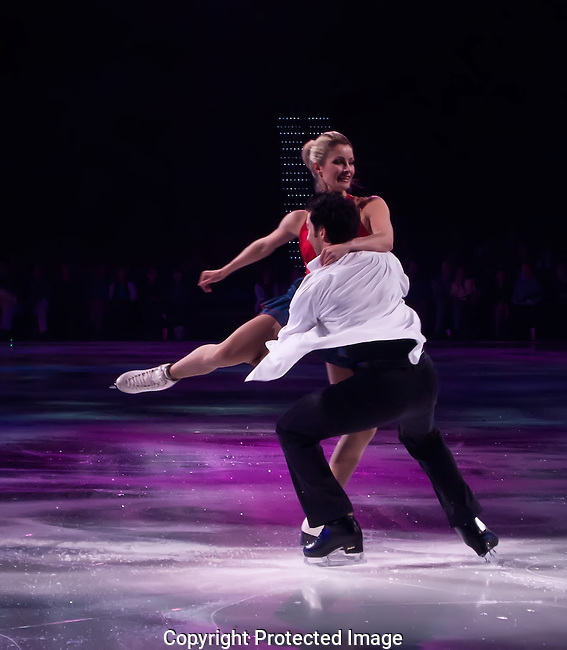 The Skater Lifts His Partner