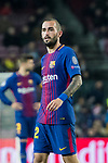 Aleix Vidal of FC Barcelona looks on during the UEFA Champions League 2017-18 match between FC Barcelona and Sporting CP at Camp Nou on 05 December 2017 in Barcelona, Spain. Photo by Vicens Gimenez / Power Sport Images