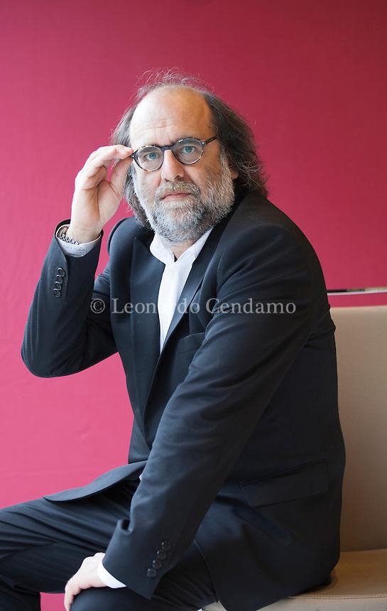 Paolo Repetti, Dirige con Severino Cesari la collana Stile Libero, Einaudi. Torino, 15 maggio 2015. © Leonardo Cendamo