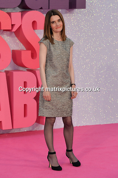 NON EXCLUSIVE PICTURE: MATRIXPICTURES.CO.UK<br /> PLEASE CREDIT ALL USES<br /> <br /> WORLD RIGHTS<br /> <br /> Scottish &quot;Happy Valley&quot; actress Shirley Henderson attends the world premiere of &quot;Bridget Jones's Baby&quot; in which she also stars at Leicester Square in London.<br /> <br /> SEPTEMBER 5th 2016<br /> <br /> REF: JWN 162864