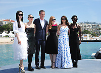 Jessica Chastain, Marion Cotillard, Penelope Cruz, Fan Bingbing, Lupita Nyong&rsquo;o and Director Simon Kinberg promoting their upcoming spy thriller &quot;355&quot; at the 71st Festival de Cannes, Cannes, France 10 May 2018<br /> Picture: Paul Smith/Featureflash/SilverHub 0208 004 5359 sales@silverhubmedia.com