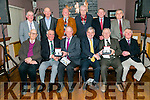 Jerome Leen and Pat Mulvihill from Munster Cattle Breeding Group gave a presentation to mark the retirements of operators in North Kerry at Ó Ríada's on Thursday Front l-r  Brendan Finnerty, Castlemaine, John O'Neill, Caherciveen, Jerome Leen, Munster Cattle Breeding, Pat Mulvihill, Munster Cattle Breeding, Pat Walsh, Causeway and Joe Doran, Castleisland. Back l-r  Padraig Kelly, Listowel, Dick Kissane, Lisselton, John Harty, Causeway, Tom Fleming, Castleisland, Michael Molyneux, Listowel and left Michael Hussey, Glin