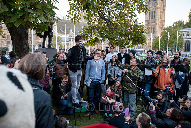 Jolyon Rubinstein (One of the creators and presenter of the BBC Satire show &quot;The Revolution Will Be Televised&quot;).<br />