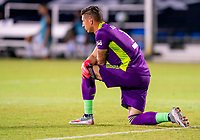 13th July 2020, Orlando, Florida, USA;  Los Angeles Galaxy goalkeeper David Bingham (1) during the MLS Is Back Tournament between the LA Galaxy versus Portland Timbers on July 13, 2020 at the ESPN Wide World of Sports, Orlando FL.