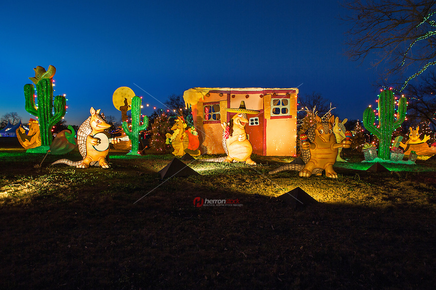 Austin Trail of Lights is back, with great western light displays!