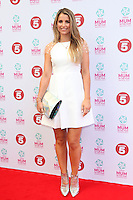 Vogue Williams arriving at the Tesco Mum Of The Year Awards 2014, at The Savoy, London. 23/02/2014 Picture by: Alexandra Glen / Featureflash