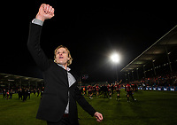 Crusaders coach Scott Robertson following the 2018 Super Rugby final between the Crusaders and Lions at AMI Stadium in Christchurch, New Zealand on Sunday, 29 July 2018. Photo: Joe Johnson / lintottphoto.co.nz