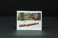"""Whitewater Canoeing"" postcards, 10 pack, approx. 4.25"" x 5.5"""