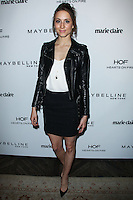 WEST HOLLYWOOD, CA, USA - APRIL 08: Troian Bellisario at the Marie Claire Fresh Faces Party Celebrating May Cover Stars held at Soho House on April 8, 2014 in West Hollywood, California, United States. (Photo by Celebrity Monitor)