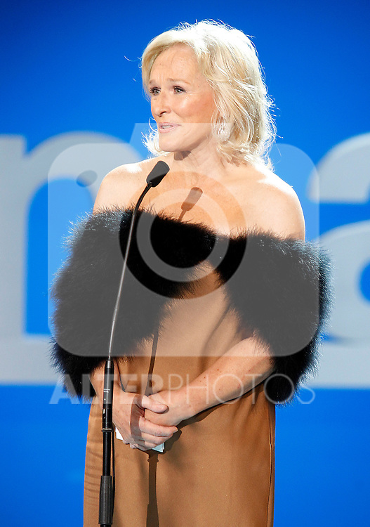 Actress Glenn Close receives the Donosti Lifetime Achievement Award during the 59th San Sebastian Donostia International Film Festival - Zinemaldia.September 18,2011. Photo: Acero / Alter / ALFAQUI