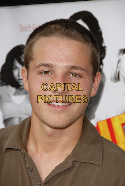 "SHAUN PYFROM.Los Angeles Premiere of ""John Tucker Must Die"" held at The Grauman's Chinese Theatre in Hollywood, California  .July 25th, 2006.Ref: DVS.headshot portrait.www.capitalpictures.com.sales@capitalpictures.com.©Debbie VanStory/Capital Pictures"