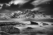 Tom Mackie, LANDSCAPES, LANDSCHAFTEN, PAISAJES, photos,+B&W, EU, Europa, Europe, European, Flakstad, Iceland, Lofoten Islands, Norway, Norwegian, Scandinavia, Scandinavian, Tom Mack+ie, arctic, atmosphere, atmospheric, black & white, black and white, coast, coastal, coastline, coastlines, dramatic outdoors+fjord, horizontal, mountain, mountainous, mountains, rocky, rugged, season, snow, tourism, tourist attraction, travel, water+, water's edge, weather, winter, wintery,B&W, EU, Europa, Europe, European, Flakstad, Iceland, Lofoten Islands, Norway, Norw+,GBTM160376-1,#L#